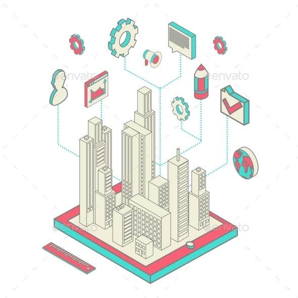 GraphicRiver City App 10166334