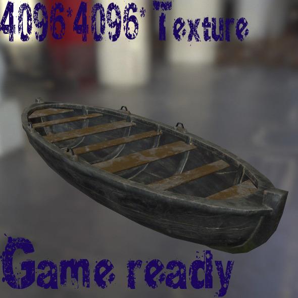 3DOcean Boat 10157576