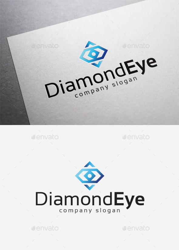 GraphicRiver Diamond Eye Logo 10166423