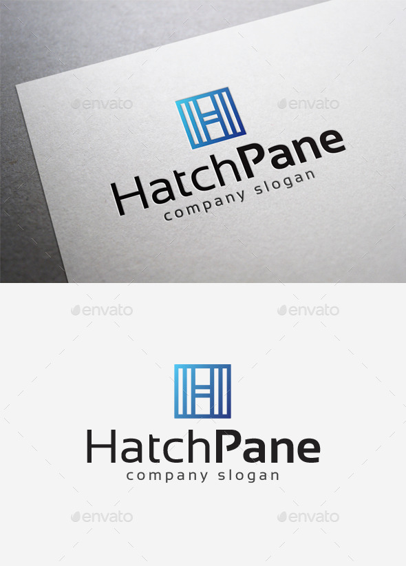 GraphicRiver Hatch Pane Logo 10166461
