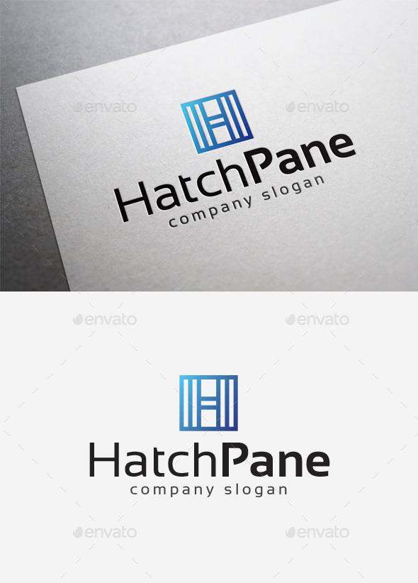 GraphicRiver Hatch Pane Logo 10166461