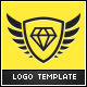 Diamond Wings Logo Template - GraphicRiver Item for Sale