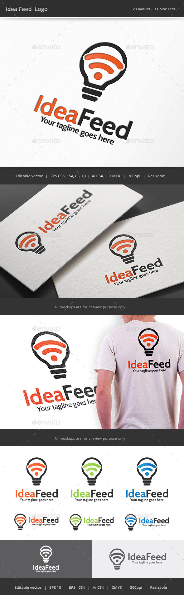 GraphicRiver Idea Feed Logo 10167616