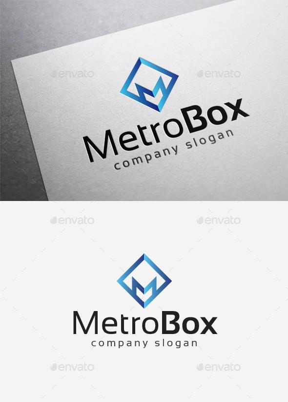 GraphicRiver Metro Box Logo 10167715