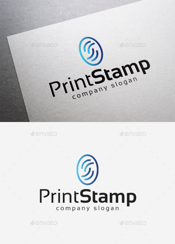 GraphicRiver Print Stamp Logo 10167759