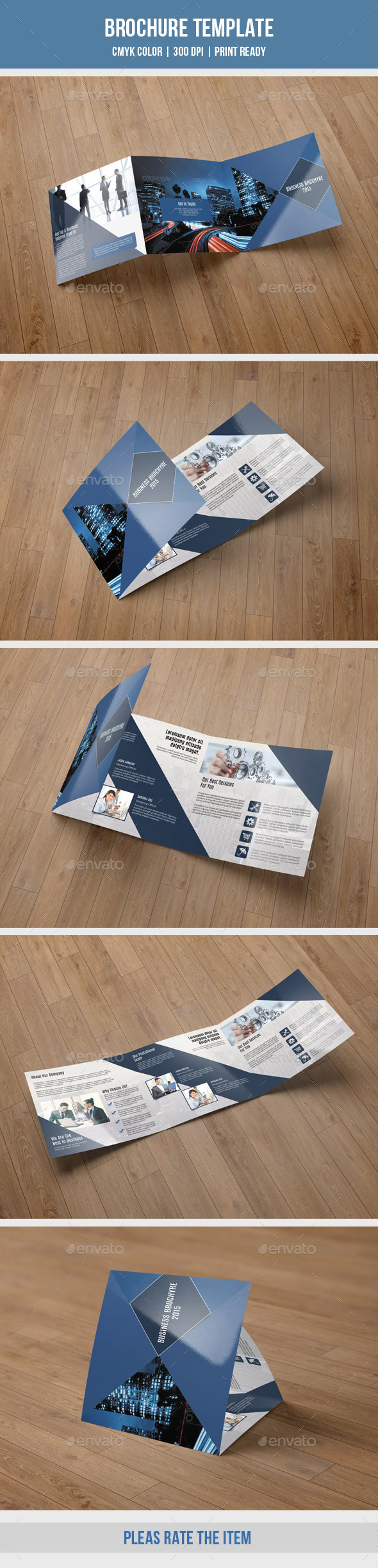 GraphicRiver Corporate Square Trifold Brochure-V59 10167797