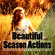 Beautiful Season Actions - GraphicRiver Item for Sale
