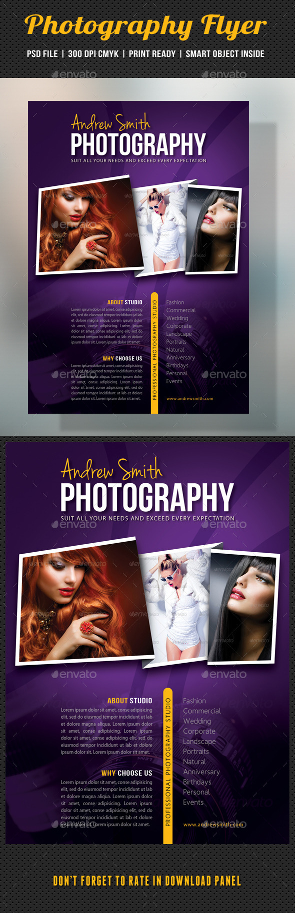 GraphicRiver Photography Studio Flyer 13 10167889