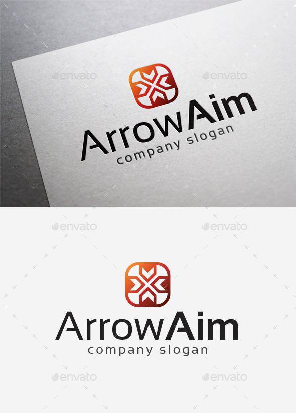 GraphicRiver Arrow Aim Logo 10168209