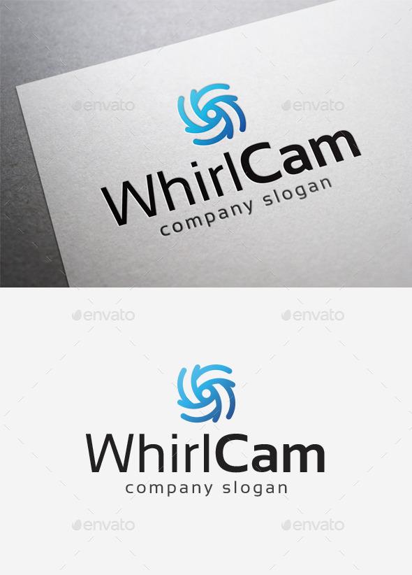 GraphicRiver Whirl Cam Logo 10168281