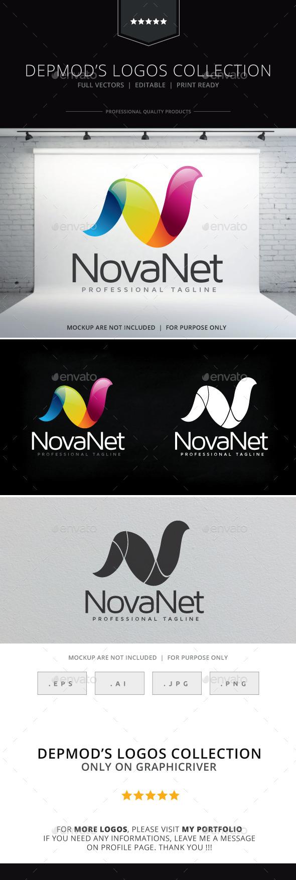GraphicRiver Nova Net Logo 10169507