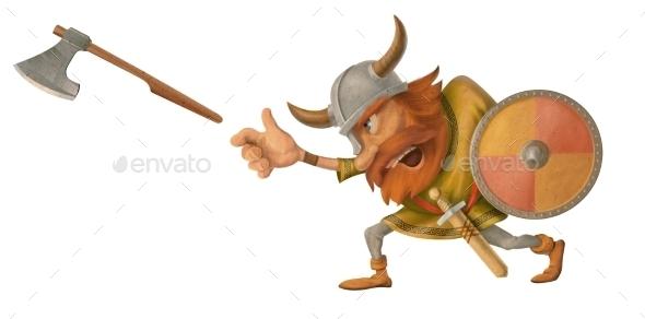 GraphicRiver Viking 10169543