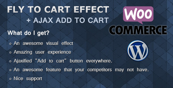 WooCommerce Fly to Cart Effect - CodeCanyon Item for Sale