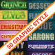 50 Illustrator Logo Text Styles (Bundle) - GraphicRiver Item for Sale