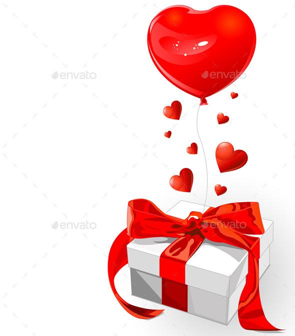 GraphicRiver Valentine Gift Box 10169905