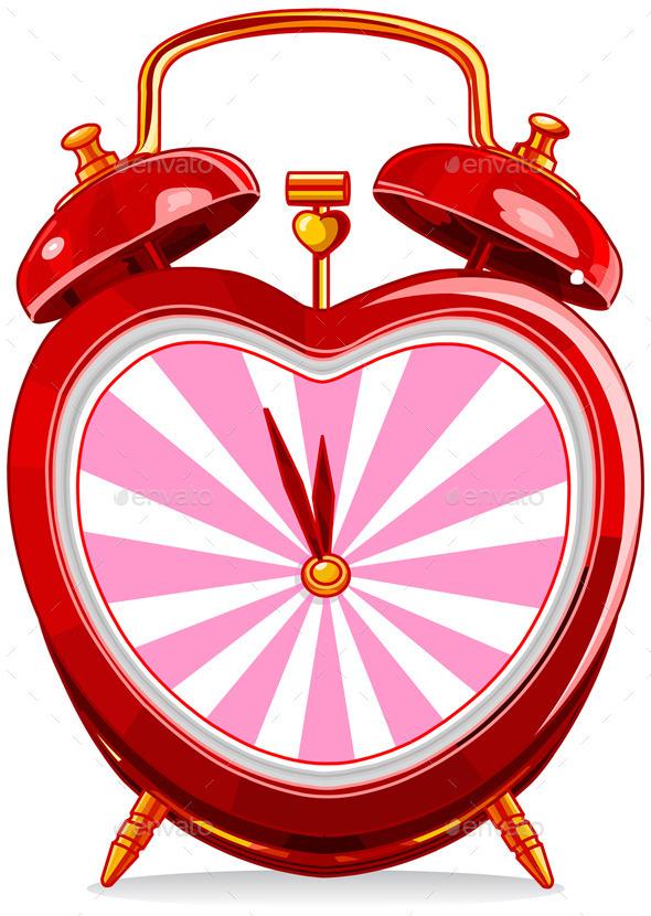 GraphicRiver Vintage Alarm Clock 10169950