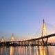 Bhumibol Mega Bridge (Industrial Ring Mega Bridge) at night, Ban - PhotoDune Item for Sale