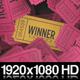 Ticket Stub Winner - VideoHive Item for Sale