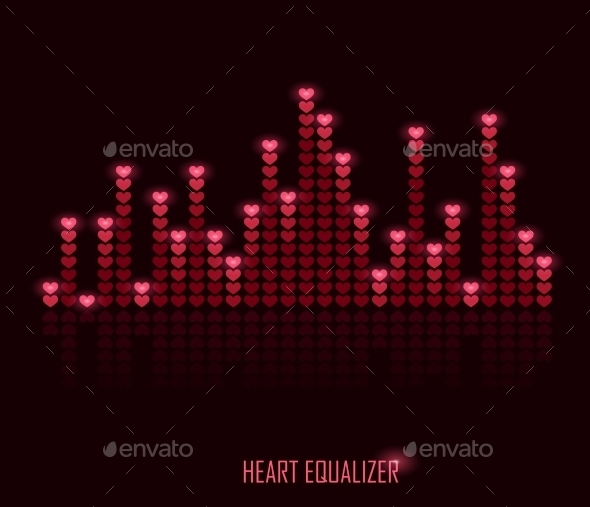 GraphicRiver Heart Equalizer 10170735