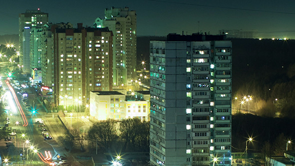 Night Life In Big City