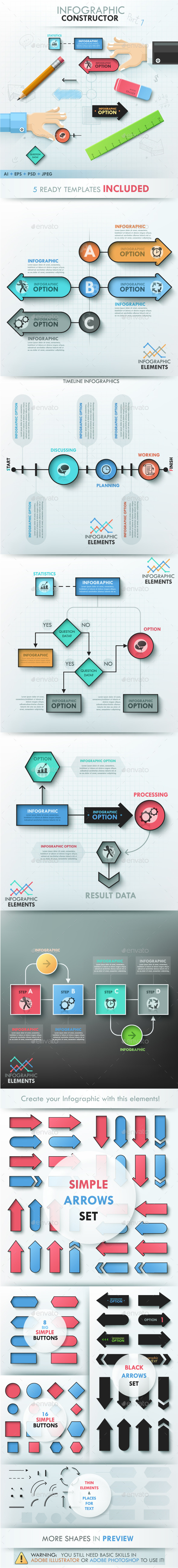 GraphicRiver Infographic Constructor Set 1 10171354