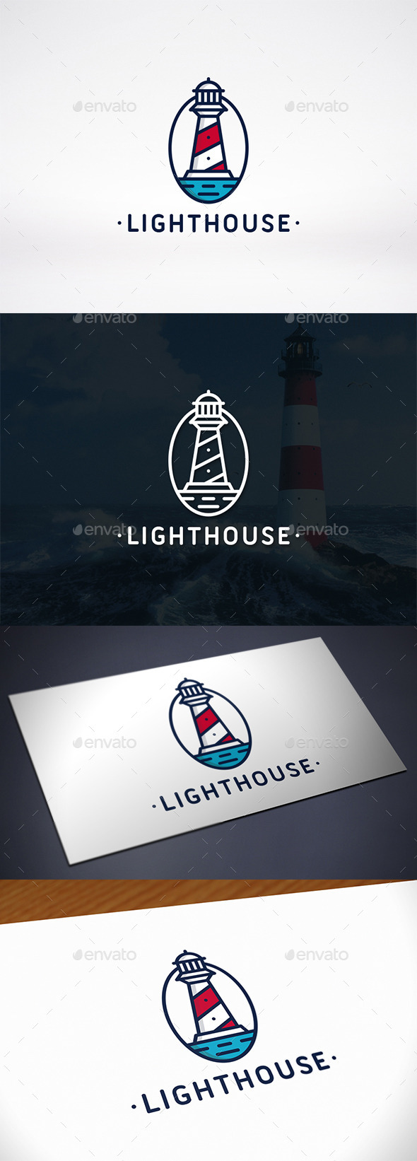 GraphicRiver Lighthouse Identity Logo Template 10172299
