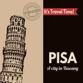 Pisa poster - PhotoDune Item for Sale