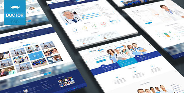 ThemeForest Doctor Health Clinical Template 10172997