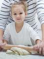 Teamwork Kneading Dough - PhotoDune Item for Sale