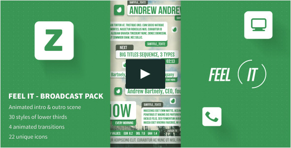 Feel IT Internet Broadcast Pack