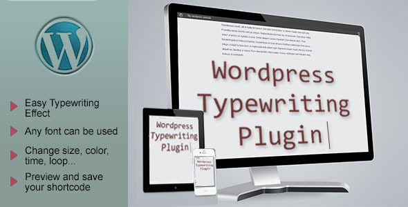 Premium Advanced Typewriter Effect WordPress Plugin