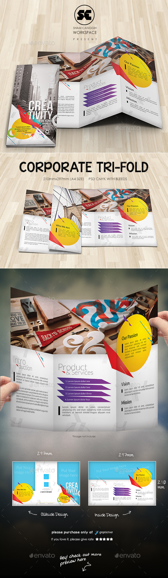 GraphicRiver Creative Corporate Tri-Fold 10132288