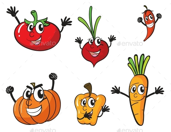 GraphicRiver Various Vegetables 10174539