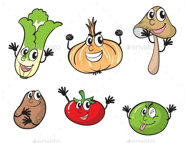 GraphicRiver Vegetables 10175157