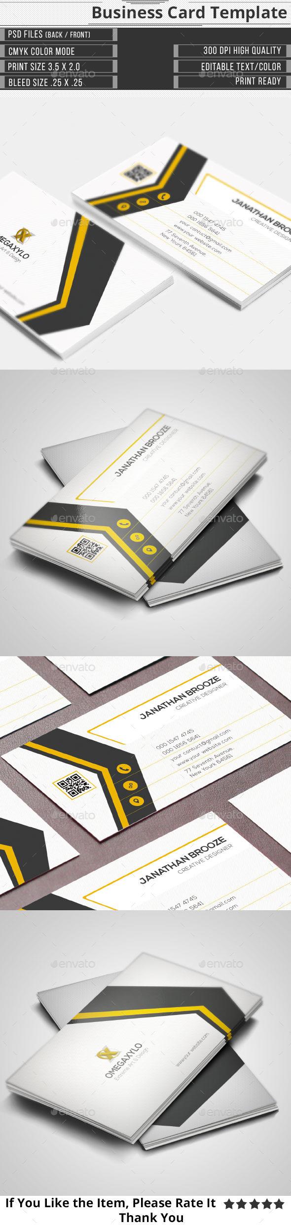 GraphicRiver Elegant Corporate Business Card 10175289