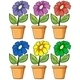 Pots with Flowering Plants  - GraphicRiver Item for Sale