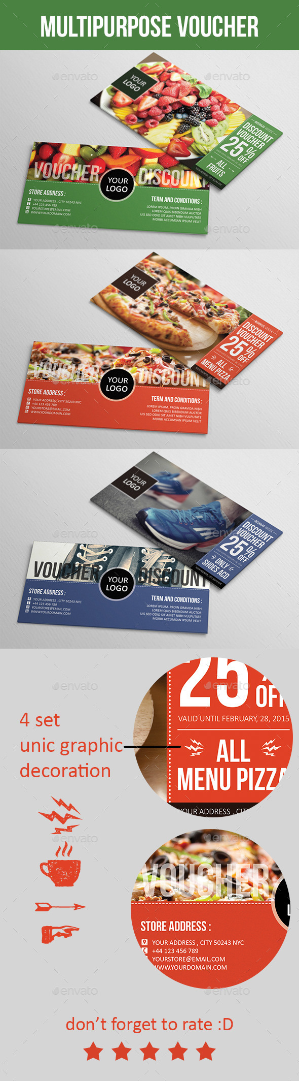 GraphicRiver Multipurpose Voucher 10002752