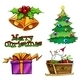 Group of Christmas Decors  - GraphicRiver Item for Sale