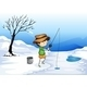 Boy Ice Fishing - GraphicRiver Item for Sale