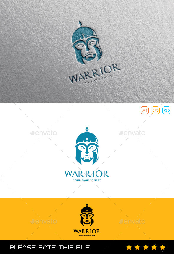 GraphicRiver Warrior Logo 10175406
