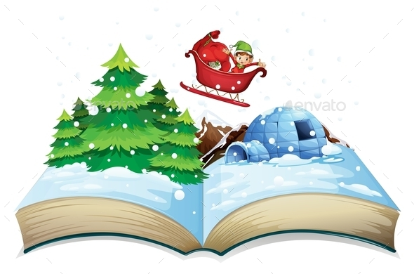 GraphicRiver Winter Book 10175442
