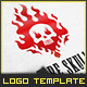 Skull Fire - Logo Template - GraphicRiver Item for Sale