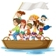 Children on Boat - GraphicRiver Item for Sale