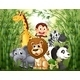 Bamboo Forest with Many Animals - GraphicRiver Item for Sale