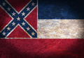 Old rusty metal sign with a flag - PhotoDune Item for Sale