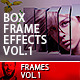 Multi Photo Box Frame Effects Vol1 - GraphicRiver Item for Sale