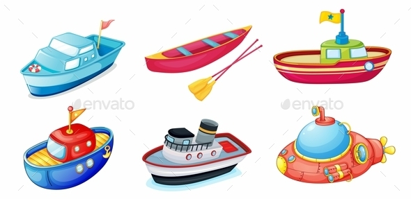 GraphicRiver Various Ships 10175984