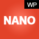NanoMag - Responsive WordPress Magazine Theme - ThemeForest Item for Sale