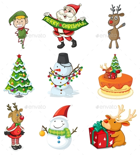 GraphicRiver Christmas Designs 10176417