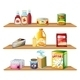 Three Wooden Shelves - GraphicRiver Item for Sale